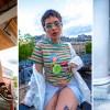 X-girlとフランス人アーティスト Fafiとのコラボコレクションが7/19発売 (エックスガール ファフィ)