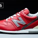 333足先行!ニューバランス「996」スムースレザーレッドが「ニューバランス原宿」3周年記念として11/2~11/10発売 (New Balance)