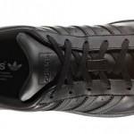 """2016年 秋冬モデル!つま先がグロスってるアディダス オリジナルス スーパースター """"グロッシー トー"""" ブラック (adidas Originals SUPERSTAR GLOSSY TOE) [BB0684]"""