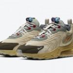 """【5月29日】Travis Scott x Nike Air Max 270 React """"Cactus Trails""""CT2864-200"""