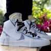 """【新色リーク】Sacai X Nike Blazer Mid """"White/Wolf Grey""""【サカイ x ナイキ】"""