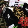 A BATHING APEからエイプヘッド×パンダを掛け合わせたフーディ「1ST CAMO APE PANDA HALF FULL ZIP HOODIE」が3/28発売 (ア ベイシング エイプ)