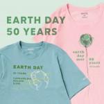 コロンビアから「EARTH DAY アースデイ」50周年を記念したオーガニックコットン100%の「Columbia EARTH DAY TEE」が4/8発売!