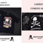 mastermind JAPAN TEE PRE COLLECTIONが1/28発売! (マスターマインド ジャパン)