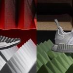 """【速報】7/19発売!adidas Originals NMD_R1 """"Blackout/Whiteout"""" Pack 2カラー (アディダス オリジナルス エヌ エム ディー ランナー """"グラフィック パック"""") [S76518,9]"""