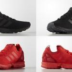 """海外展開!トリプルブラック/レッドのアディダス オリジナルス フラックス プライムニット (adidas Originals ZX FLUX PRIMEKNIT """"Triple Black/Red"""") [S75976,7]"""