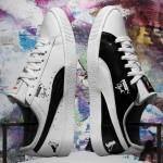 """5/4 発売!PUMA × Jeff Staple × FOOT LOCKER CLYDE """"White/Black"""" (プーマ クライド ステイプル フットロッカー) [932435-01]"""