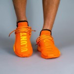 "Pharrell Williams x adidas Originals NMD TRAIL HU ""Orange/ULUNTU"" (ファレル・ウィリアムス アディダス オリジナルス エヌエムディー ""オレンジ/ブラック"") [GY0095]"