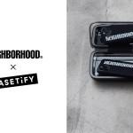 NEIGHBORHOOD × CASETiFY コラボ スマホケースが4/29 発売 (ネイバーフッド ケースティファイ)