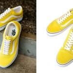 """4月下旬発売!VANS nano・universe Exclusive OLD SKOOL """"Yellow"""" (バンズ ナノ・ユニバース オールドスクール)"""