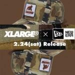 「Patchwork Camo」カラーのXLARGE WALKING APE × New Eraが2/24から発売 (エクストララージ ウォーキング エイプ ニューエラ)