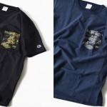 Champion × SHIPS 別注 リバースウィーブ ジャージー カモフラ ポケット TEEが4月上旬発売! (チャンピオン シップス)