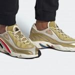 """2/6発売!adidas Originals FYW 98 """"Gold Metallic/Off White"""" (アディダス オリジナルス FYW 98 """"ゴールドメタリック/オフホワイト"""") [FV4324]"""