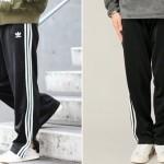 adidas不朽の名作「TRACK PANTS」が装い新たにトレンドのワイドシルエットを纏って2018年1月中旬登場 (アディダス トラック パンツ)