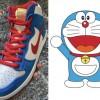 """【2020年後半に発売】Nike SB Dunk High """"Doraemon""""【ナイキ SB ダンク ハイ ドラえもん】"""