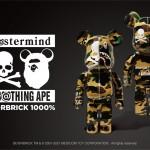 mastermind VS A BATHING APE BE@RBRICK 1000%が7/17から発売 (マスターマインド ア ベイシング エイプ ベアブリック)