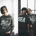 【8/28 発売】WIND AND SEA × SAINT M×××××× 最新コラボ (セントマイケル ウィンダンシー)