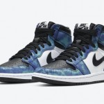 "【オフィシャル画像】Air Jordan 1 High OG ""Tie-Dye""CD0461-100"