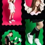 """4/29 発売!めるる/生見愛瑠がデザインを監修した adidas Originals FORUM LOW """"White/Screaming Pink"""" (アディダス オリジナルス フォーラム ロー """"ホワイト/スクリーミングピンク"""") [GZ7014]"""