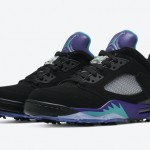 "【発売開始】Air Jordan 5 Low Golf ""Black Grape"""