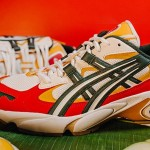 """10/12発売!SneakerLAH × ASICS TIGER GEL-KAYANO 5 OG """"NASI LEMAK"""" (アシックスタイガー ゲルカヤノ 5 OG) [1021a405.101]"""