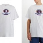 "BALENCIAGA 2018 A/W ""Logo-print cotton Tee"" (バレンシアガ ""ロゴプリント コットン Tシャツ"")"