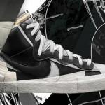 """【9月19日発売】Sacai x Nike Blazer Mid """"Black"""" & """"White""""【サカイ x ナイキ ブレザー ミッド】"""
