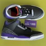 """【発売延期!?】Air Jordan 3 """"Court Purple""""【エアジョーダン3 コートパープル】"""