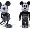 ABC CAMO モノトーンのA BATHING APE × MICKEY MOUSE × BE@RBRICK & VCDが7/18発売 (ア ベイシング エイプ ミッキーマウス ベアブリック)