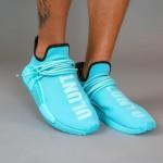 """Pharrell Williams x adidas Originals NMD TRAIL HU """"Blue/ULUNTU"""" (ファレル・ウィリアムス アディダス オリジナルス エヌエムディー """"ブルー/ブラック"""") [GY0094]"""