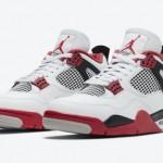 """【公式写真】Air Jordan 4 """"Fire Red""""【エアジョーダン4 ファイアレッド】"""