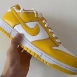 """【2020年の秋冬に発売】Nike Dunk Low """"Yellow/White""""【ナイキ ダンク ロー】"""