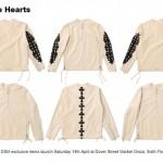 CHROME HEARTS × DSMG exclusive アイテムが4/17から発売 (クロムハーツ ドーバーストリートマーケット銀座 DOVER STREET MARKET)