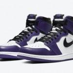 """【4月4日発売】Air Jordan 1 High OG """"Court Purple""""【エアジョーダン1ハイ コートパープル】"""