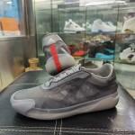 【リーク】プラダ × アディダス 最新コラボ「THE A+P LUNA ROSSA 21」 Grey (PRADA adidas Originals)