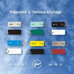 FRAGMENT x Various Keytagsが8/18 発売 (フラグメント 藤原ヒロシ ヴェアリィアスキータグス)
