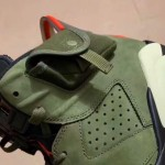 "【アナザールック】Travis Scott x Air Jordan 6 ""Medium Olive"" CN1084-200"
