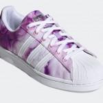 """2/4 発売!パープルカラーの水彩画タッチ adidas Originals SUPERSTAR """"Ultra Purple/White/True Pink"""" (アディダス オリジナルス スーパースター """"ウルトラパープル/ホワイト/トゥルーピンク"""") [FX6033]"""