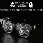 【第2弾】A BATHING APE × mastermind JAPAN Eyewear Collectionが6/6発売 (ア ベイシング エイプ マスターマインド ジャパン)
