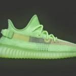 """【5月25日発売】adidas Yeezy Boost 350 V2 """"Glow in the Dark"""" EG5293"""