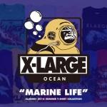 """X-largeからサマーシーズンを象徴する「海」をコンセプトとした最新TEE コレクション """"MARINE LIFE""""が登場! (エクストララージ)"""