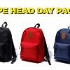 A BATHING APEからシンプルなカラーリングにエイプヘッドのレザーパッチをあしらったデイパック「APE HEAD DAY PACK」が7/13発売 (ア ベイシング エイプ)