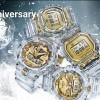 G-SHOCK誕生35周年記念モデル!クリアスケルトンで氷河を表現した「GLACIER GOLD」が9/14から発売 (Gショック ジーショック)