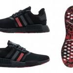 """10/19発売!adidas Originals NMD_R1 SMU """"Core Black/Red"""" (アディダス オリジナルス エヌ エム ディー SMU """"コア ブラック/レッド"""") [G26514]"""
