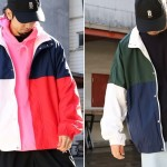 FREAK'S STOREから90'Sレトロスポーツを彷彿させる配色トラックジャケット「スーパービッグトラックジャケット」が発売 (フリークスストア)