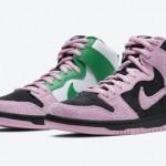 """【10月発売】Nike SB Dunk High """"Invert Celtics""""【ナイキ SB ダンク ハイ """"インバート・セルティックス""""】"""