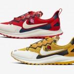 【9月26日発売】Gyakusou x Nike Air Zoom Pegasus 36 Trail【ギャクソウ x ナイキ】