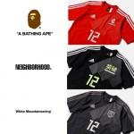 エイプ/ネイバー/ホワイトマウンテニアリングがサッカー日本代表ユニフォームのコンセプトコレクション「adidas 勝色 Collection」として伊勢丹にて5/14から先行リリース (アディダス)