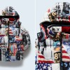 TOMMY JEANSから星条旗モチーフをアーティスティックにリデザインした「グラフィックプリントブルゾン」が発売 (トミージーンズ TJM PATTERNED JACKET)