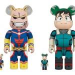 僕のヒーローアカデミア × ベアブリックからオールマイトと緑谷出久が大小サイセットで11月発売 (BE@RBRICK My Hero Academia)